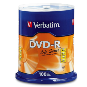 DVD-R de 4.7GB, 120 minutos, 16x