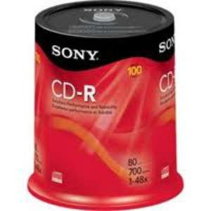 CD-R de 700MB, 80 minutos, 48x