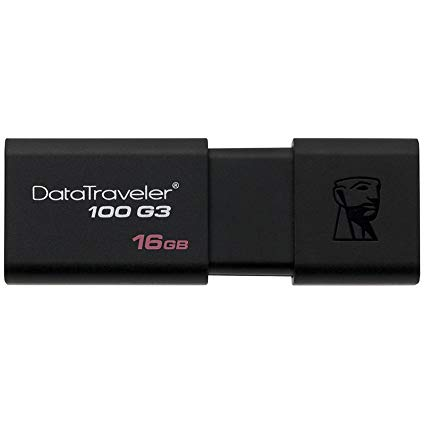 Unidad flash Kingston de 16GB, USB 3.0
